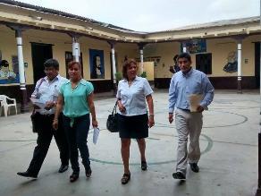 Ica: Dirección Regional de Educación inspeccionó instituciones educativas