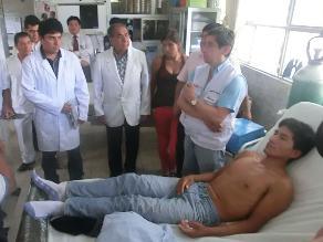 Ministro de Salud viaja hoy a Pichanaki para instalar hospital de campaña