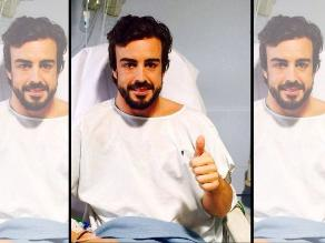 Fernando Alonso abandona el hospital tras tres días hospitalizado