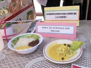 Junín: autoridades promueven loncheras saludables en la región