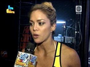 EEG: Sheyla Rojas no aguanta las bromas de Rafael Cardozo