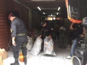 Ica: realizan intervención policial a centro comercial Tacorita