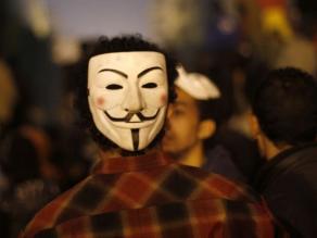 Detienen a siete miembros de Anonymous en Portugal