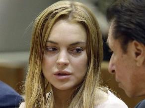 Lindsay Lohan fue condenada a 125 horas de trabajo comunitario