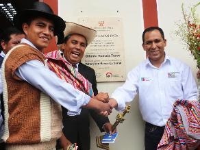 Huancayo: inauguran plataforma de servicio en Quilcas sin autoridades