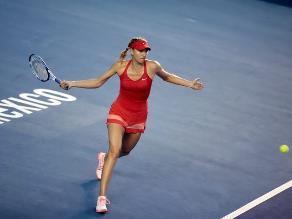 Maria Sharapova dice que su objetivo es mejorar partido a partido