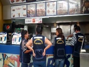 Chiclayo: 30 locales de comida fueron cerrados en dos meses
