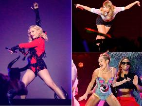 Las 10 caídas más estrepitosas de celebridades en el escenario
