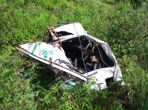 Santiago de Chuco: camión cae abismo y deja un muerto y cinco heridos