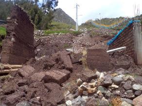 San Martín: huaico deja familias damnificadas y afectadas en Rioja