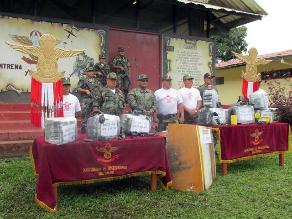 Policía Nacional decomisó más de 200 kilos de cocaína en Satipo