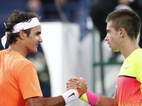 Roger Federer arrasa a Borna Coric y alcanza su décima final en Dubai