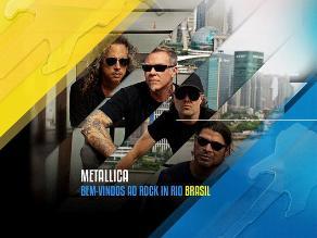 Rock in Rio: Metallica confirmó su presentación en Brasil
