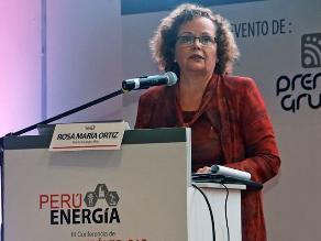 Ortiz: Perú cuenta con un sistema energético competitivo