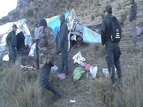 Andahuaylas: incautan arma de fuego y explosivos de procedencia ilegal