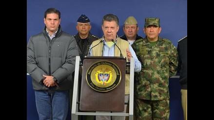 Santos anuncia envío de militares a La Habana para negociar cese al fuego