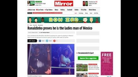 Ronaldinho en Querétaro: La verdad sobre sus fotos festejando en México