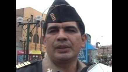 Huaral: sujeto agredió físicamente a comisario policial