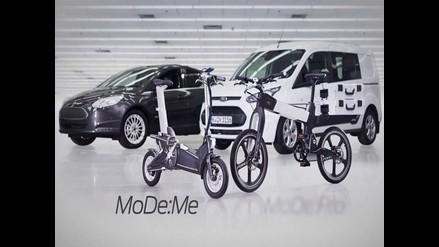 Diseñan bicicleta inteligente ideal para evitar el tráfico