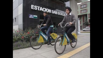 San Borja y Surquillo lanzan sistema interdistrital de bicicleta pública
