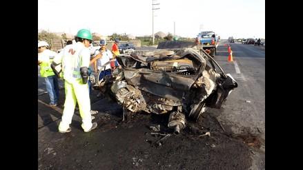 Un muerto y un herido deja accidente en vía Chancay-Huaral