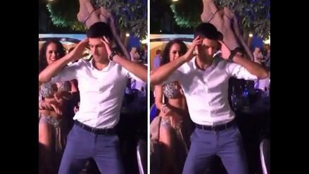 YouTube: Novak Djokovic causa sensación en Dubai con movimiento de caderas