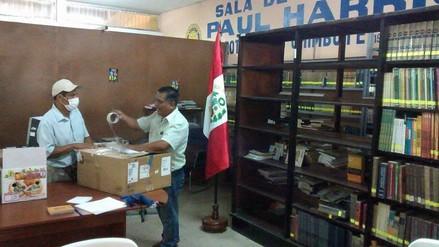 Nuevo Chimbote: trasladan biblioteca municipal por hacinamiento