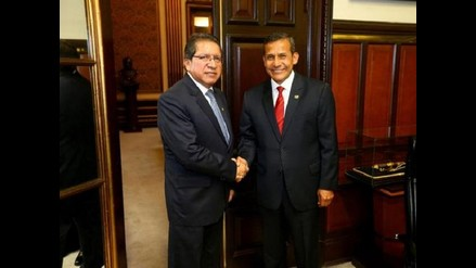 El presidente Ollanta Humala se reunió con fiscal de la Nación