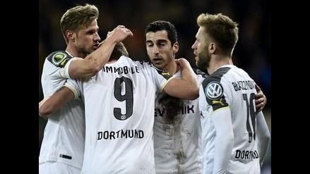 Fútbol alemán: Borussia Dortmund y Bayer Leverkusen avanzan en la Copa