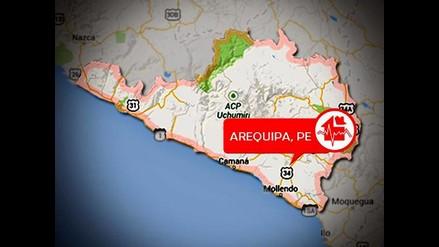 Arequipa: sismo de 3.9 grados remece la ciudad de Maca