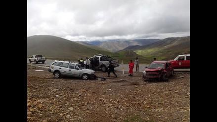 Ayacucho: dos muertos y cinco heridos en accidente vehicular