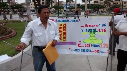 Chimbote: taxistas denuncian presunta concertación de precios en los grifos