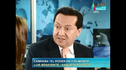 Benavente: El Perú está preparado para el voto voluntario