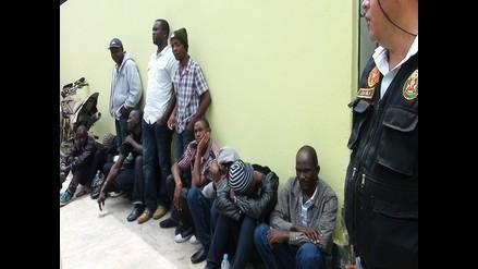 Puerto Maldonado: 91 extranjeros detenidos por ingreso ilegal al país