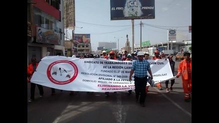 Cusco: campesinos realizan marcha de los Cuatro Suyos