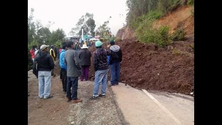 Amazonas: rehabilitan el paso por la vía FBT, bloqueada por deslizamientos