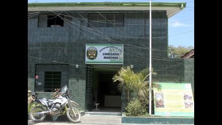 Piura: toman e intentan incendiar comisaría de Máncora