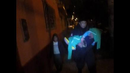 Huancayo: madre abandona a sus tres menores hijos en la calle