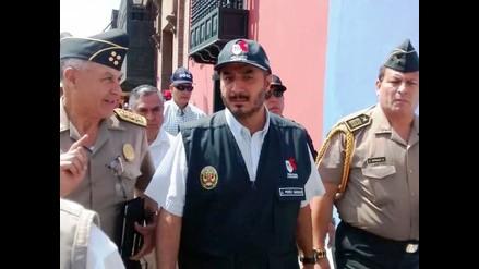 Trujillo: ministro Perez Guadalupe anuncia envío de 600 nuevos policías