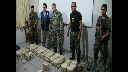 Vraem: incautan más de 350 kilos de alcaloide de cocaína