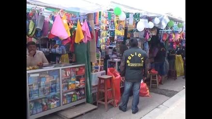 Huancayo: alertan de venta de útiles escolares con plomo