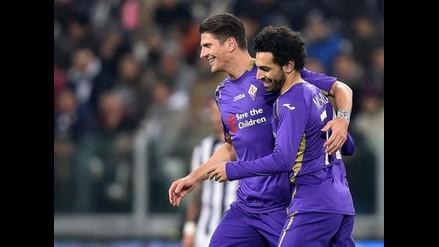 Fiorentina ganó 1-2 a Juventus y se acerca a la final de Copa de Italia