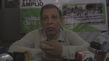 Marco Arana no descarta invitar a Gastón Acurio al Frente Amplio