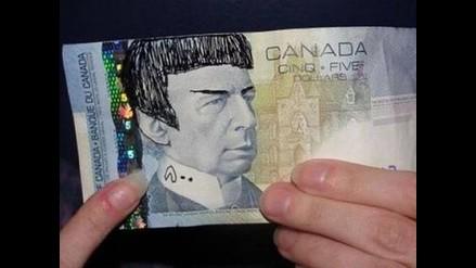 Banco de Canadá pide no dibujar a Mr. Spock de Star Trek en billetes