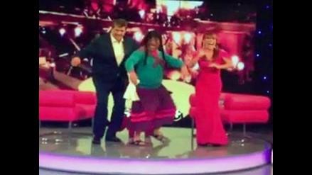 Alan García se animó a bailar con la Paisana Jacinta