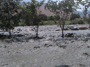 Áncash: piden hacer trabajos de defensa ribereña en el río Santa