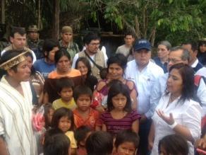 Jefa del Gabinete se reúne con representantes de cuencas amazónicas