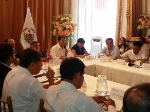 La Libertad: ministro de Trabajo se reunió con alcaldes provinciales