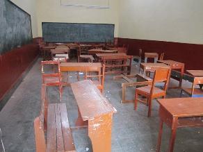 Cajamarca: padres de familia protestan por falta de local educativo