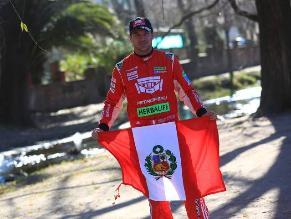 Nicolás Fuchs se alista para correr el Campeonato de Rally Argentino